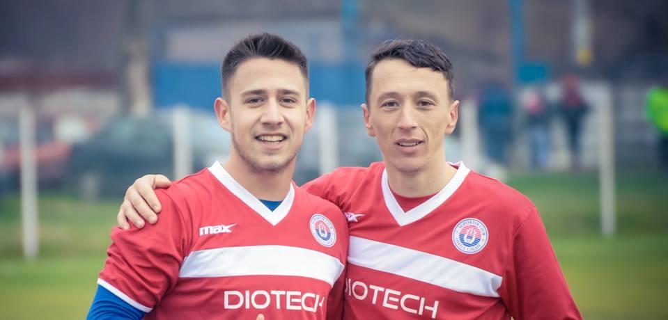 Ionut Codreanu si Nutu Tampau, doi dintre marcatorii de astazi