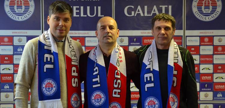 Catalin Tofan, incadrat de vicele Cosmin Ilas si directorul sportiv Sorin Haraga