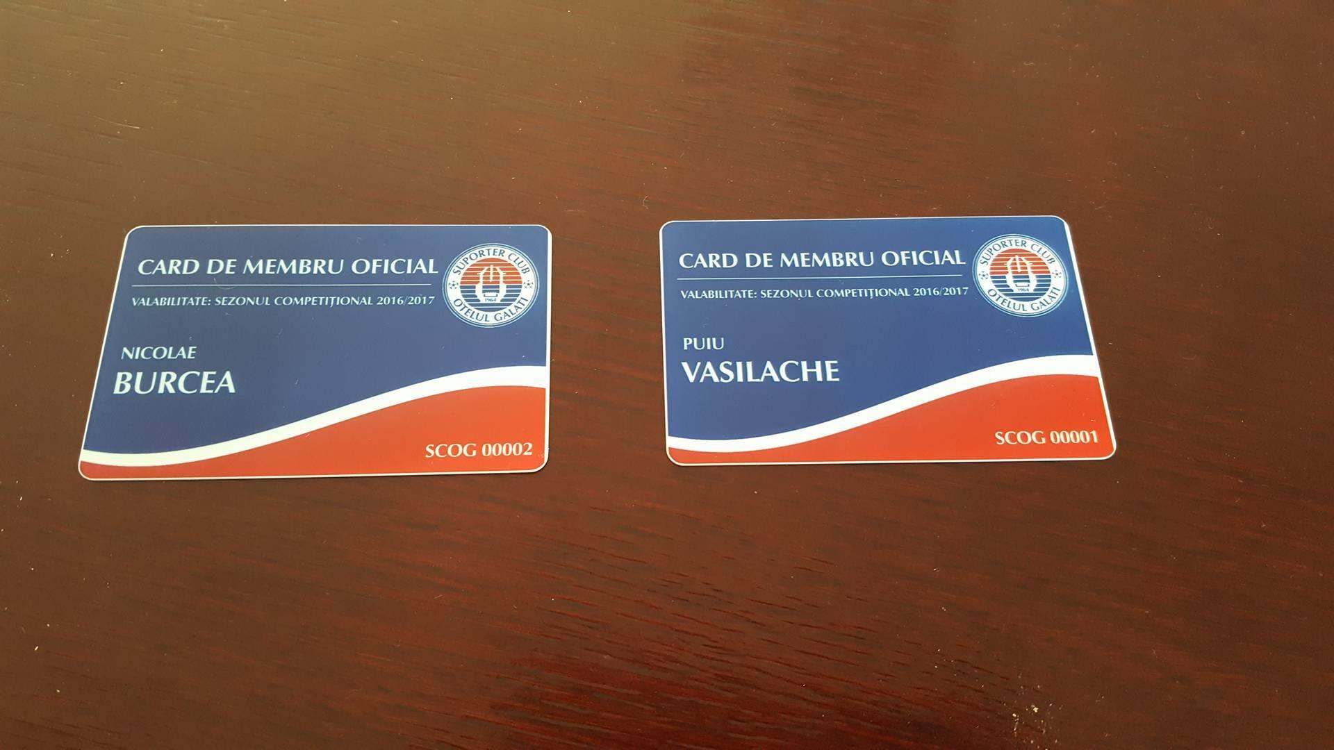 Card socios