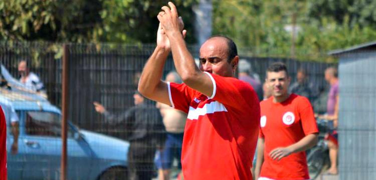 Eugen Bastina in tricoul SC Otelul Galati