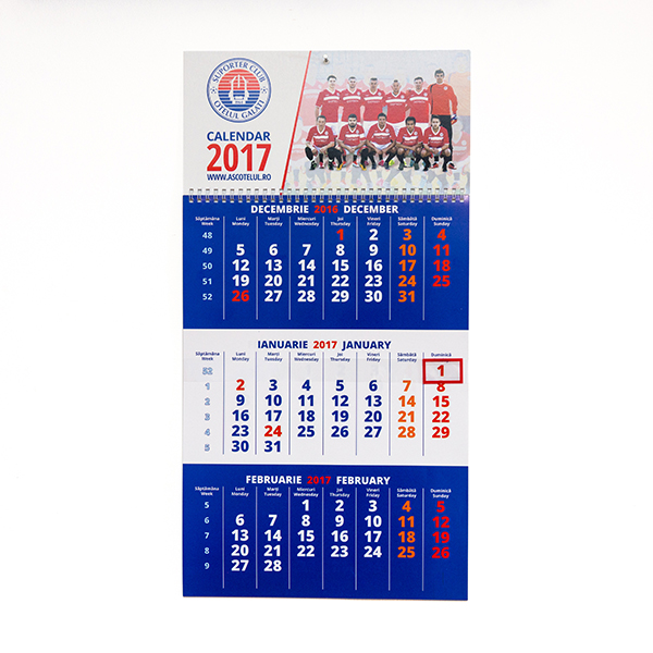 Calendar Oţelul