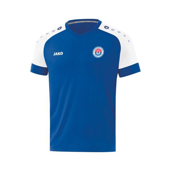 Tricou albastru Jako CHAMP adulți/copii