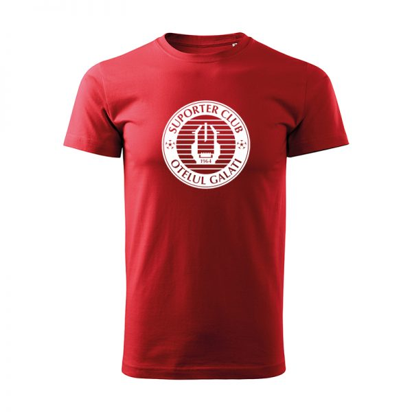 Tricou unisex rosu adulți/copii